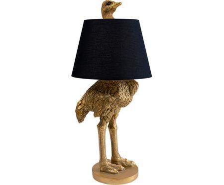Lampe de table noire Ostrich