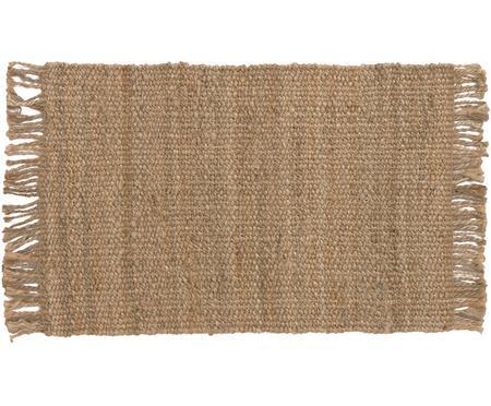 Ręcznie tkany dywan z juty z frędzlami Cadiz