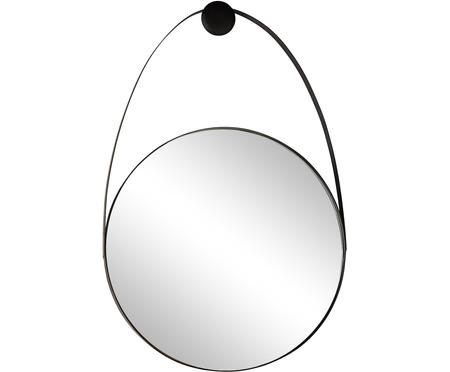 Espejo de pared Kieran, con marco de metal