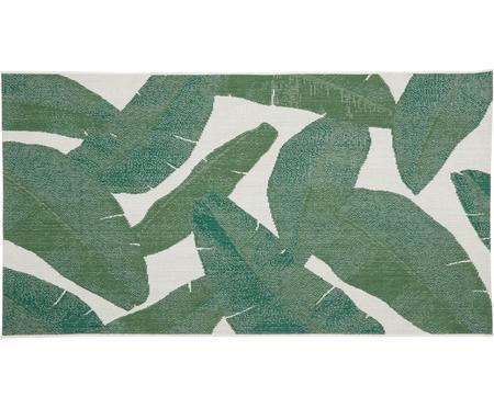 Tapis intérieur-extérieur imprimé feuilles Jungle