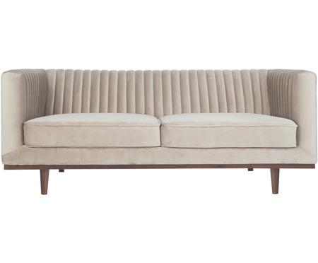 Samt-Sofa Dante (2-Sitzer)