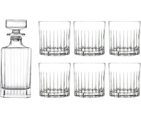 Set bicchieri da whiskey di cristallo Timeless 7 pz