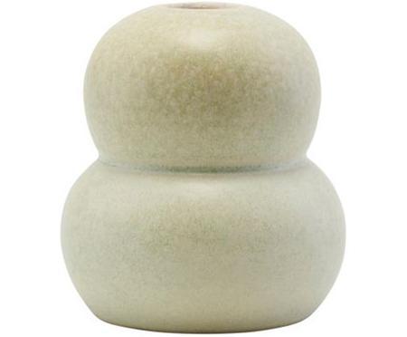 Kleine handgefertigte Vase Bobbles aus Steingut