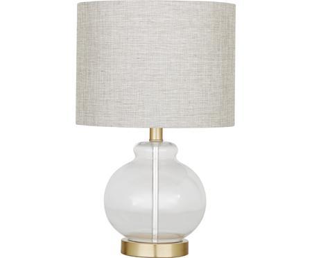 Tischlampe Natty mit Glasfuß