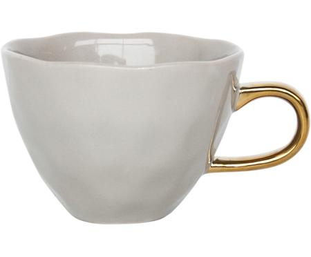 Tasse Good Morning mit goldenem Griff