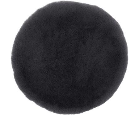 Cuscino sedia in pelliccia sintetica Matte, liscio