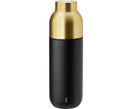 Isolierkanne Collar in Schwarz/Gold