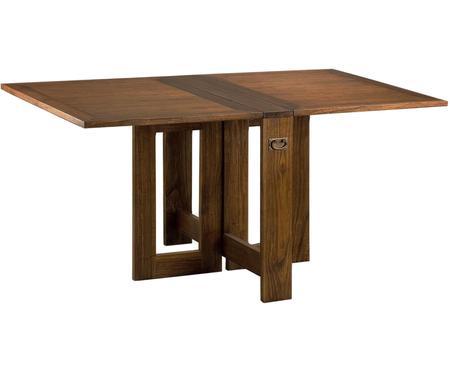 Mesa de comedor artesanal plegable Star
