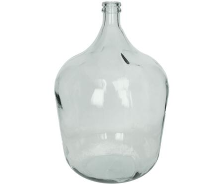 Bodenvase Beluga aus recyceltem Glas