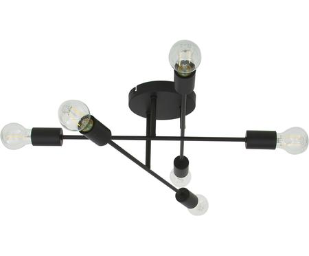 Plafonnier design noir Visby