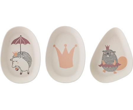 Set 3 piatti per bambini Princess