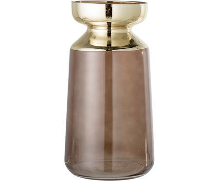 Große Deko-Vase Shimmer aus Glas