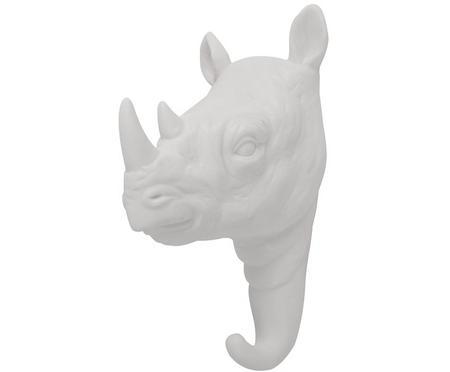 Gancio da parete in porcellana Rhino