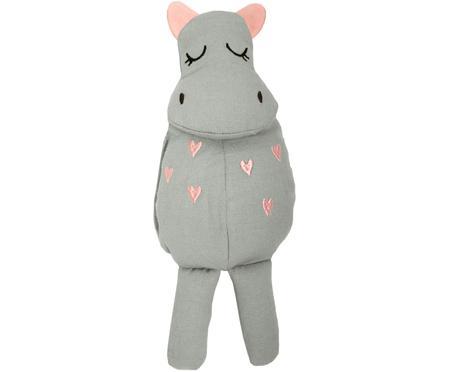 Peluche en coton bio Hippo
