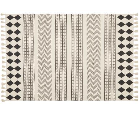 Ręcznie tkany dywan z bawełny Edna