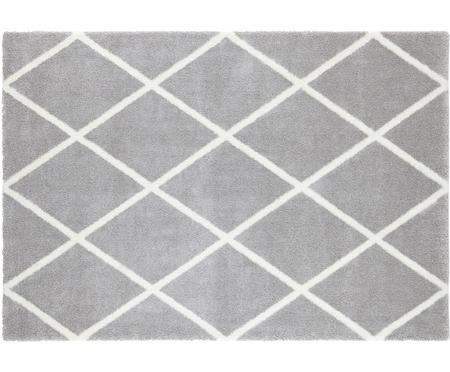 Teppich Lunel mit Rautenmuster