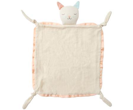 Przytulanka kocyk z bawełny organicznej Cat