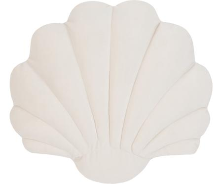 Samt-Kissen Shell in Muschelform