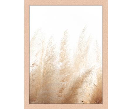 Gerahmter Digitaldruck Pampa Grass