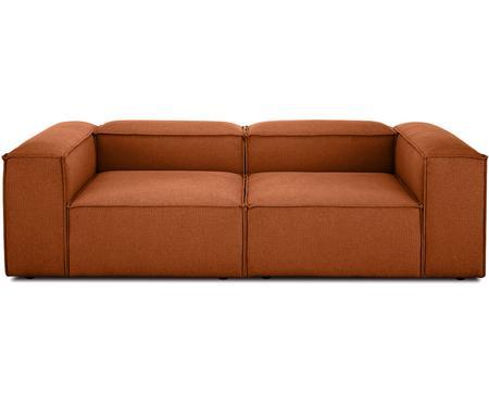 Modulares Sofa Lennon (3-Sitzer) in Terrakotta