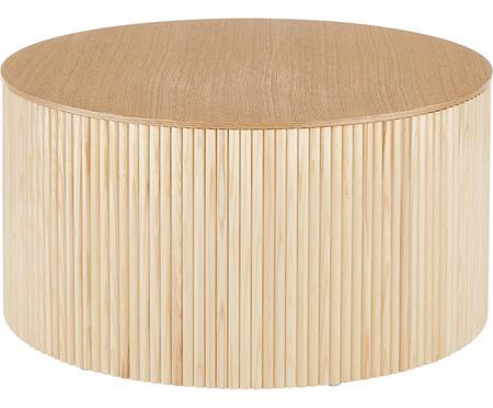 Holz-Couchtisch Nele mit Stauraum