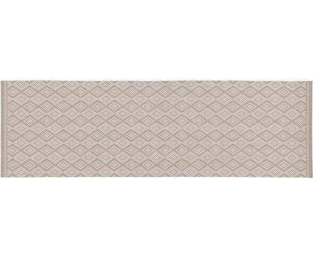 Tapis de couloir outdoor beige Capri
