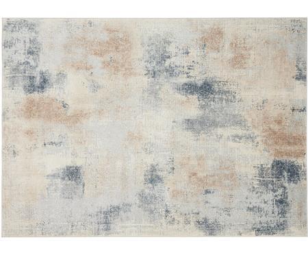 Designteppich Rustic Textures II in Beige/Grau