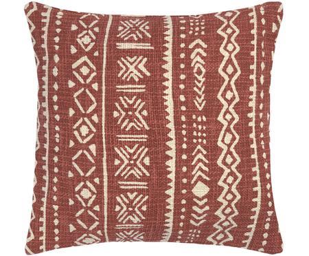 Housse de coussin à imprimé graphique Masai