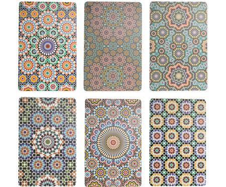 Kunststof placemats Marrakech, 6er set