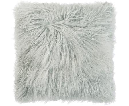 Langhaar-Schaffell Kissen Curly, mit Inlett