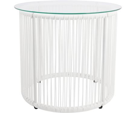 Tavolino con intreccio in plastica Bahia