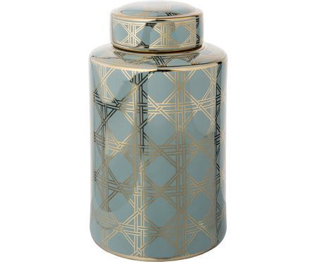 Velká porcelánová váza svíčkem Egypt