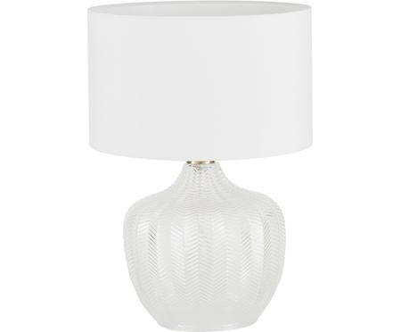 Tischlampe Sue mit Glasfuß