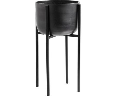Cache-pot noir Minell