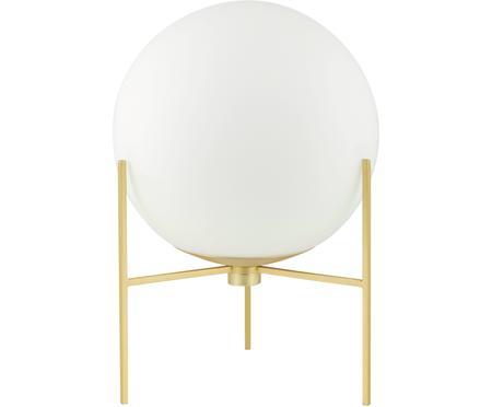 Kleine Tischlampe Alton aus Opalglas