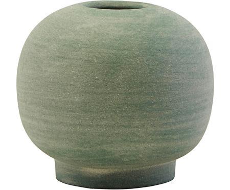 XS handgefertigte Vase Bobbles aus Steingut