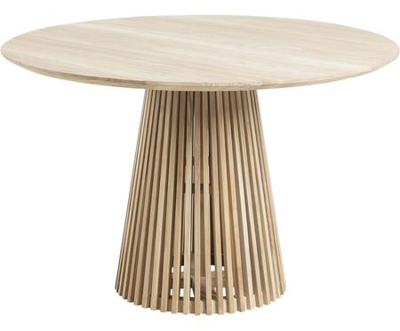 Tavolo rotondo in legno massello Jeanette