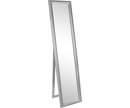 Standspiegel Sanzio mit silbernem Rahmen