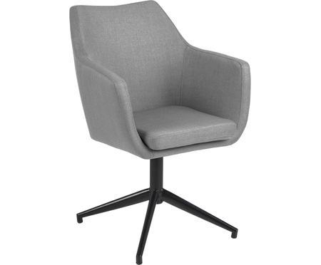 Krzesło obrotowe tapicerowane Nora