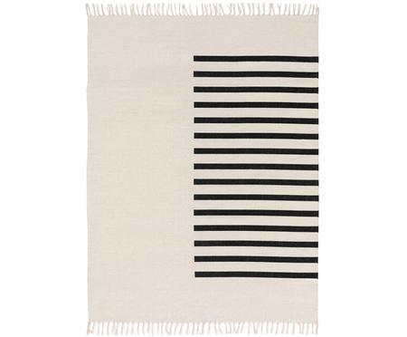 Handgewebter Kelimteppich Neo aus Wolle