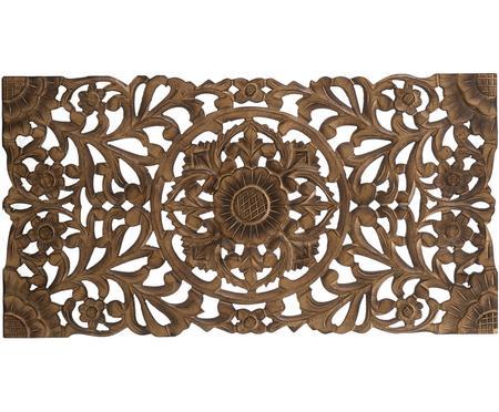 Handgemaakt decoratief wandobject Samira met antieke finish