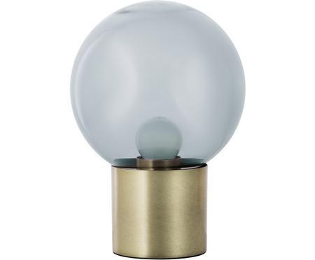 Kleine Retro-Tischlampe Lark aus Glas