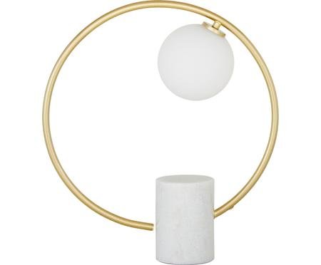 Glam-Tischlampe Soho mit Marmorfuß