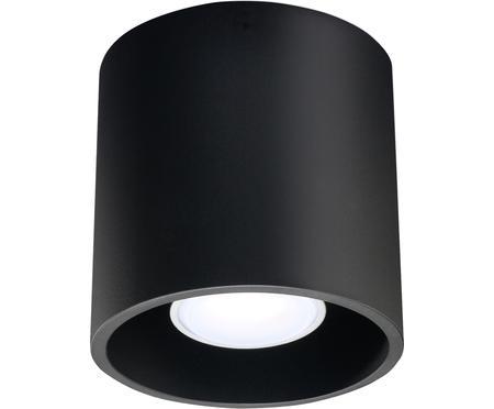 Spot en métal noir Roda