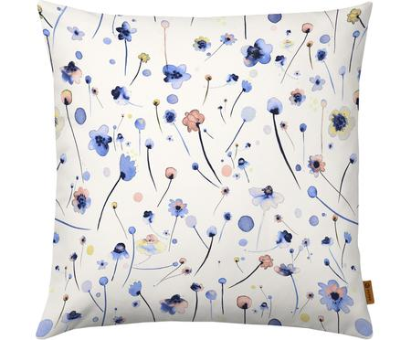 Kissenhülle Blue Soft Flowers mit Blumenmuster