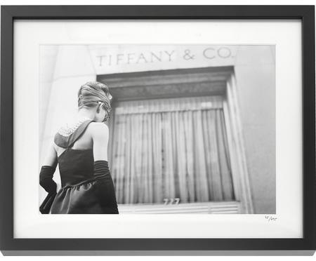 Gerahmter Fotodruck Hepburn Breakfast at Tiffany's