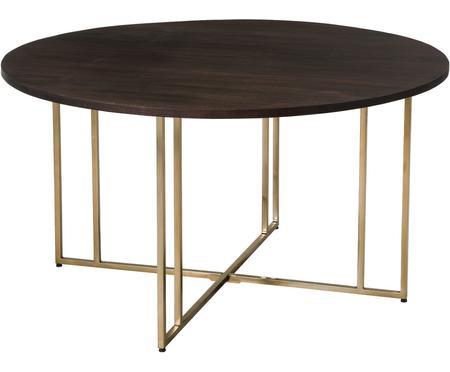 Tavolo rotondo in legno massello Luca
