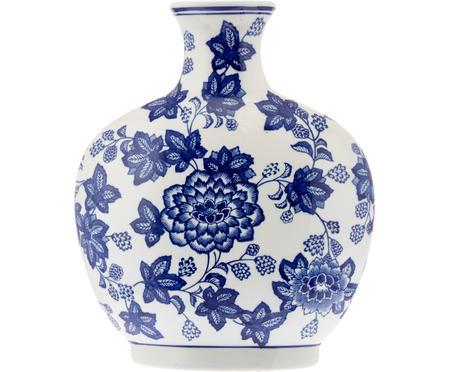 Keramik-Vase Blue Flowers