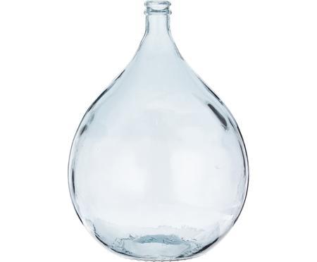 Bodenvase Drop aus recyceltem Glas