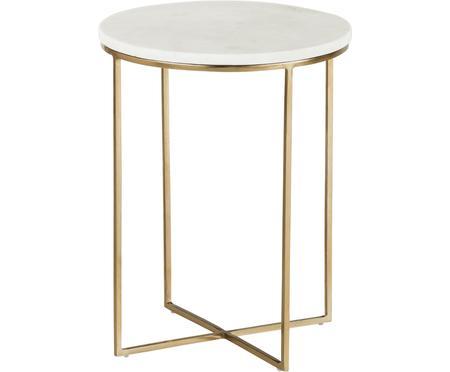 Okrągły stolik pomocniczy z marmuru Alys